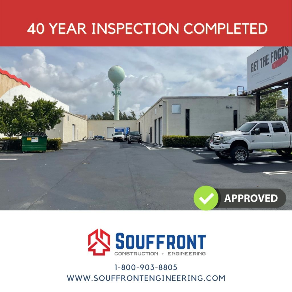 40 YEAR BUILDING RECERTIFICATION IN POMPANO BEACH